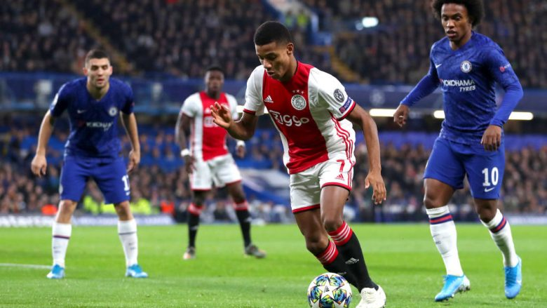 David Neres. (Photo by Catherine Ivill/Getty Images)