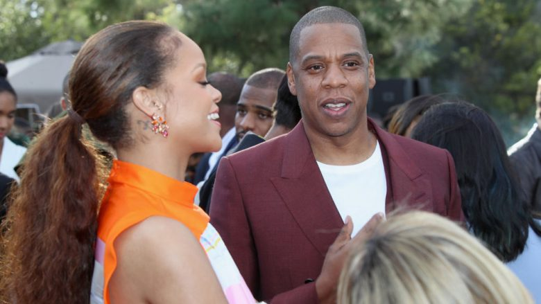 Rihanna dhe Jay Z (Foto: Ari Perilstein/Getty Images for Roc Nation/Guliver)