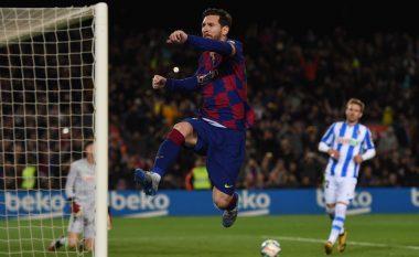 Barcelona fiton në fund ndaj Sociedadit dhe rikthen pozitën e parë në La Liga
