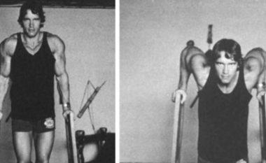 Me fotografi nga koha e rinisë, Schwarzenegger i këshillon fansat si të ushtrojnë gjatë periudhës së vetizolimit