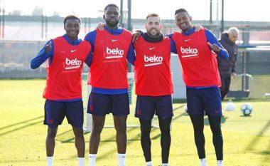 Barcelona është gati t'i shesë dy mbrojtës