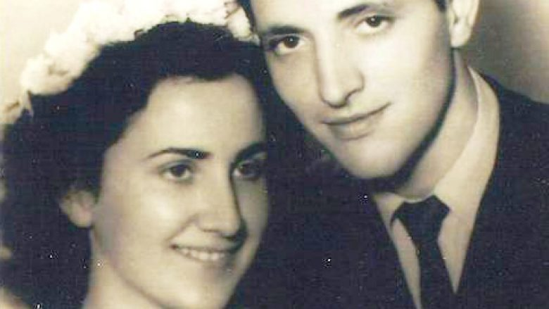 Çifti bashkëshortor, Nina Bogdanoviq e Martin Camaj (Beograd 1951)