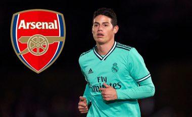 Arsenali interesohet seriozisht për James Rodriguezin