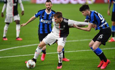 Juventusi fiton me rezultat bindës në Derby D'Italia ndaj Interit dhe rimerr kreun e tabelës