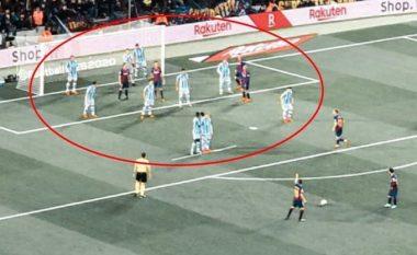 """""""E vetmja mënyrë për ta ndalur Messin"""", rreshtimi i lojtarëve të Sociedadit bëhet viral në rrjetet sociale"""