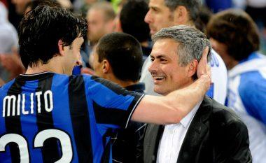 Milito me lëvdata të mëdha për Mourinhon: Njëri nga trajnerët më të mirë në histori