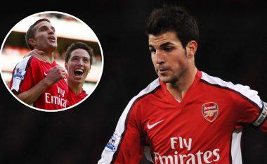 """""""Vetëm Van Persie dhe Nasri ishin në nivelin tim"""" - Fabregas tregon përse mori vendimin në vitin 2011 që të largohej nga Arsenali"""