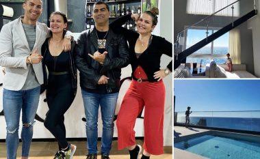 """Një izolim sikurse ky i Ronaldos – Portugezi po """"shijon karantinën"""" në një vilë luksoze me pishinë në çati dhe pamje nga deti"""