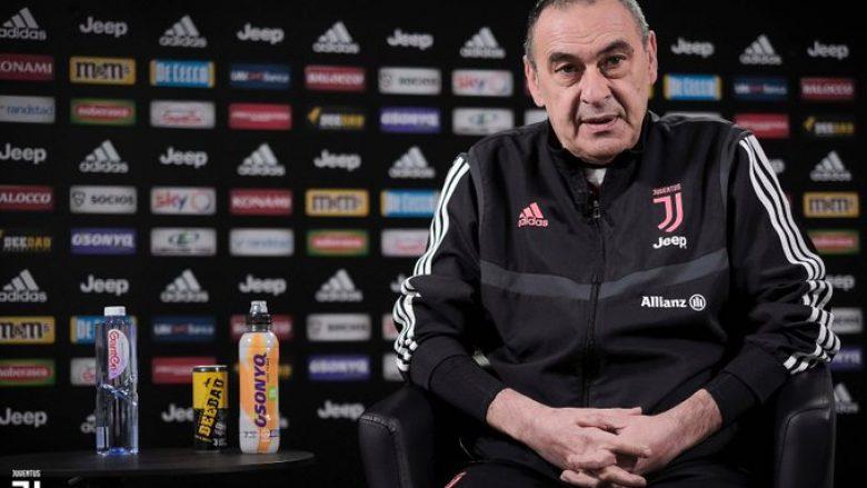 Maurizio Sarri (Foto: Juventus FC/Twitter)