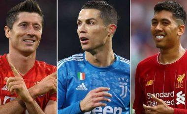 Njëzet sulmuesit më të mirë në pesë ligat kryesore të Evropës këtë sezon bazuar në statistika