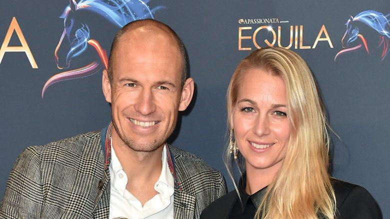 Arjen dhe Bernadien Robben (Foto: Getty Images)