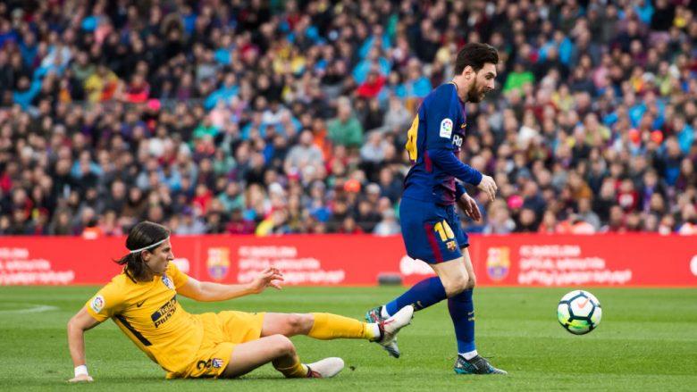 Filipe Luis dhe Lionel Messi (Foto: Alex Caparros/Getty Images/Guliver)