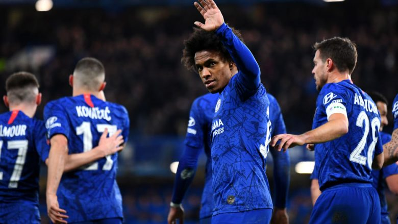 Willian . (Photo by Clive Mason/Getty Images)