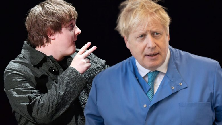 Lewis Capaldi, Boris Johnson (Foto: Getty Images/Guliver)