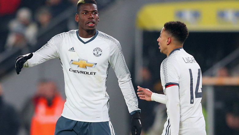 Paul Pogba dhe Jesse Lingard (Foto: Alex Livesey/Getty Images/Guliver)