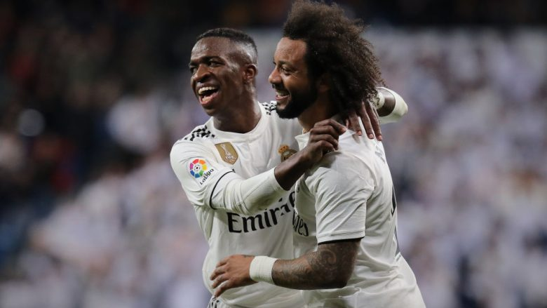 Vinicius Junior dhe Marcelo (Foto: Gonzalo Arroyo Moreno/Getty Images/Guliver)