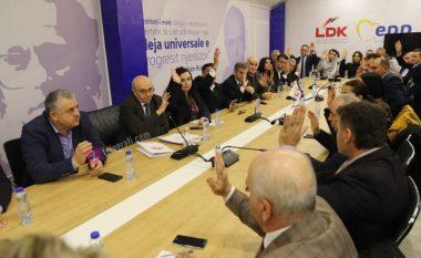 Këshilli i Përgjithshëm i LDK-së i thotë PO qeverisë së koalicionit LDK-AAK-NISMA/AKR