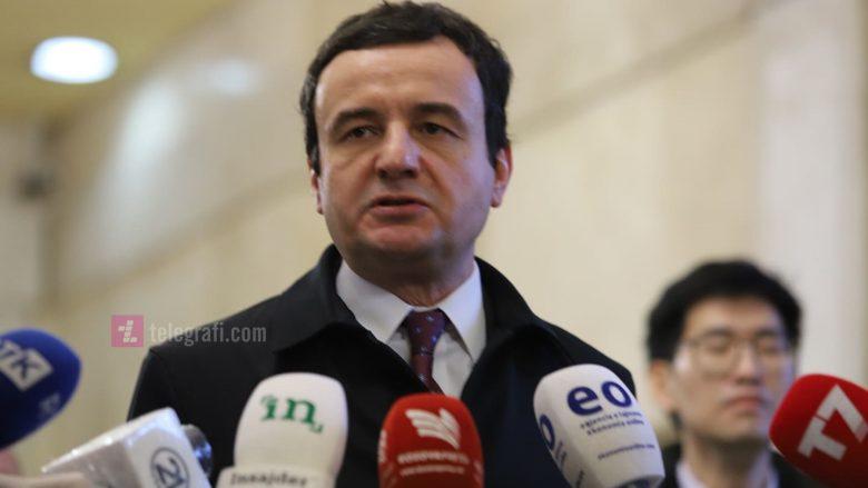 Kurti flet për propozimin e AAK-së, për të ndihmuar të gjithë qytetarët me nga 100 euro