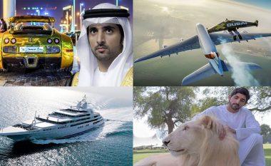 Princi i Dubait ka aq shumë para, se që 200 personave do iu duheshin dy vjet për t'i numëruar të gjitha