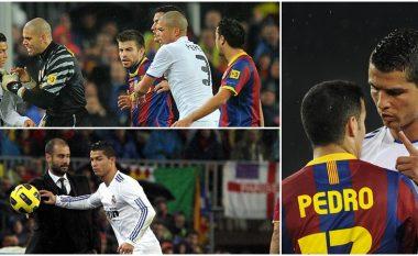 Njëra nga përplasjet më interesante ndodhi 10 vite më parë, Ronaldo ironizoi me Pedron, por përgjigja e spanjollit e la pa tekst portugezin