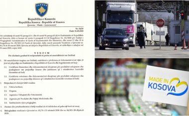 Reagimet pro dhe kundër vendosjes së reciprocitetit tregtar me Serbinë