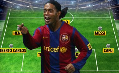 Ronaldinho zgjedh formacionin e ëndrrave në Ligën e Kampionëve, lë jashtë CR7