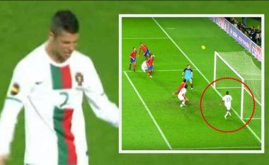 Ta kujtojmë momentin kur Nani 'anuloi' golin më të mirë në karrierë të Ronaldos