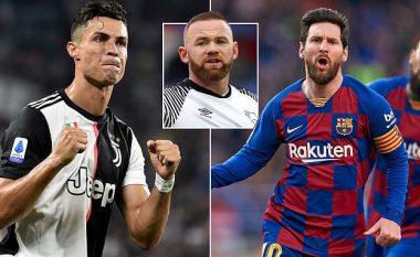 Rooney: Ronaldon e kam mik, por Messi është lojtar më i mirë