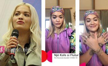 """Rita Ora i bashkohet iniciativës """"Një kafe si flutur"""", ka disa fjalë ndërgjegjësimi për shqiptarët"""