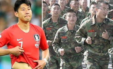 Heung-Min Son do të shkojë të kryejë shërbimin ushtarak në Korenë e Jugut