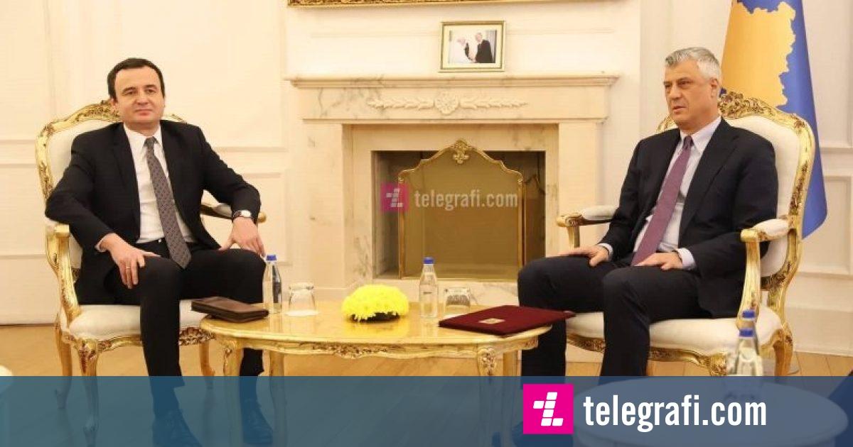Kurti  Thaçi nuk është neutral  ka interes politik dhe synim personal
