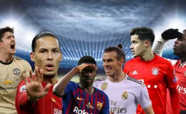 Top 20 transferimet më të shtrenjta në histori të futbollit