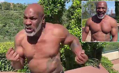 Tyson publikon video ku shihet fiziku i tij i jashtëzakonshëm edhe pse në moshën 53 vjeçare – duket gati për rikthim në boks