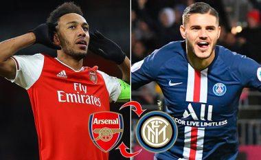 Interi i ofron Arsenalit shkëmbimin e Icardit me Aubameyangun