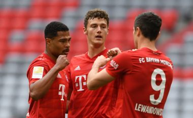 Bayerni fiton thellë ndaj Fortuna Dusseldorfit, marshon sigurt drejt titullit në Bundesliga