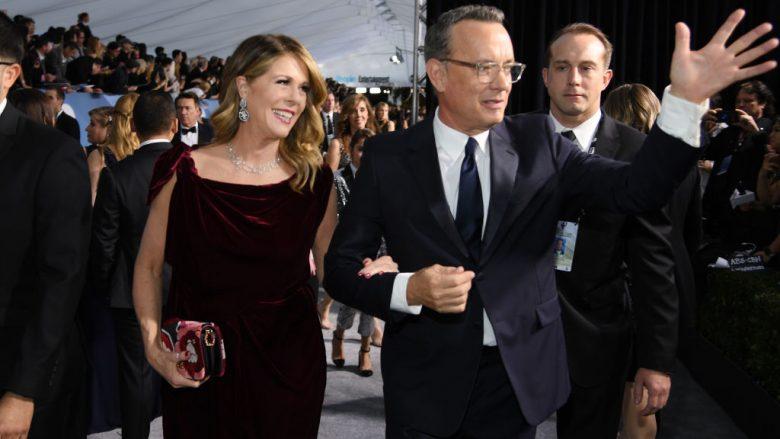 Tom Hanks dhe Rita Wilson (Foto nga Dimitrios Kambouris/Getty Images for Turner/Guliver)