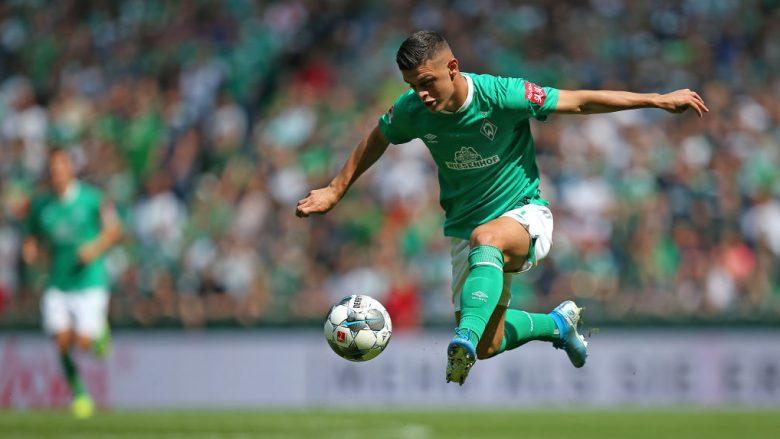 Milot Rashica rikthehet në aksion me Werder Bremenin (Foto: Cathrin Mueller/Getty Images/Guliver)
