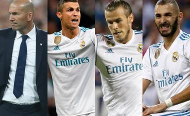 Zidane identifikon treshen e 'ëndrrave' që do të pasonte Ronaldon, Benzeman dhe Balen