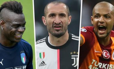 """""""Ai gjithmonë kishte frikë në ndeshje të mëdha"""" - Melo dhe Balotelli i kundërpërgjigjen Chiellinit"""