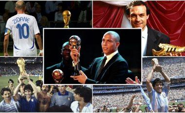"""""""Topi i Artë"""" i Kupës së Botës, çmim që dhurohet nga viti 1982: Këtu janë të gjithë fituesit"""