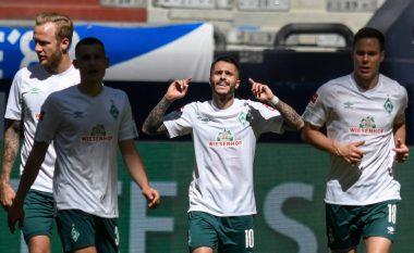 Werder Bremeni i Milot Rashicës merr një fitore të madhe në udhëtim te Schalke