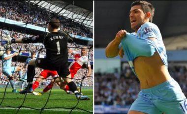 Sot tetë vjet më parë, Sergio Aguero shënoi golin më dramatik në historinë e Ligës Premier