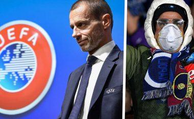 Presidenti i UEFA-s, Ceferin: Futbolli me tifozë do të kthehet së shpejti