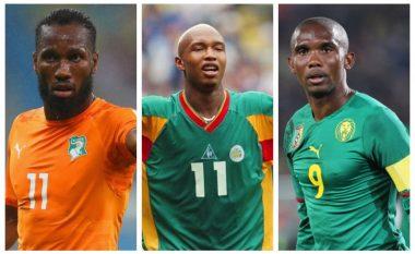"""""""Nuk ka asnjë debat"""", Eto'o: Isha më i mirë se Drogba dhe Diouf, jam afrikani më i mirë në histori"""