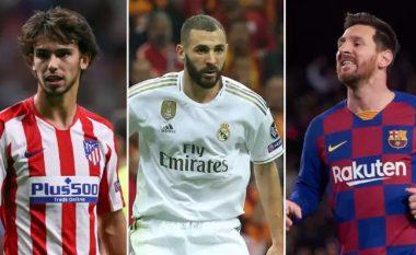 Klauzolat më të mëdha në futbollin botëror – lista dominohet nga lojtarët e Barcelonës dhe Real Madridit