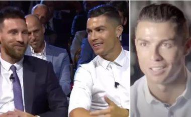Cristiano Ronaldo zbulon atë që admiron më shumë te Lionel Messi