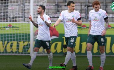 Werderi i Rashicës merr një fitore të madhe në udhëtim te Freiburgu, mban gjallë shpresat për mbijetesë