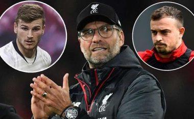 Liverpooli planifikon t'i shesë tre lojtarë për të blerë Wernerin, në mesin e tyre edhe Xherdan Shaqiri