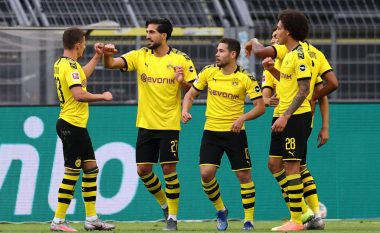 Dortmundi mposht Herthan, mban gjallë shpresat për titull
