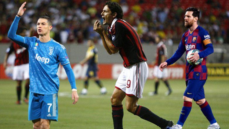 Cristiano Ronaldo, Filippo Inzaghi, Lionel Messi (Foto: Getty Images/Guliver)